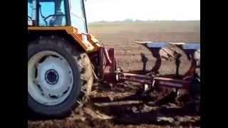 Akcja oranie i wywóz obornika Renault 106.54+ Kverneland Ursus c-360+ Rozrzutnik Agromet