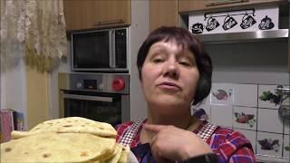 Очень вкусные(татарские лепешки с картошкой) КЫСТЫБЫЙ.
