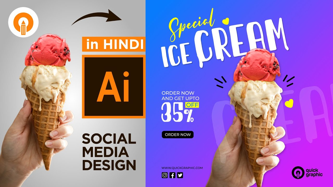 Social Media Banner Design | Instagram post Design | Adobe ...