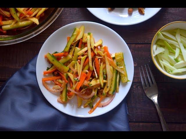 Raw Mango Salad | Salads | Slurrp