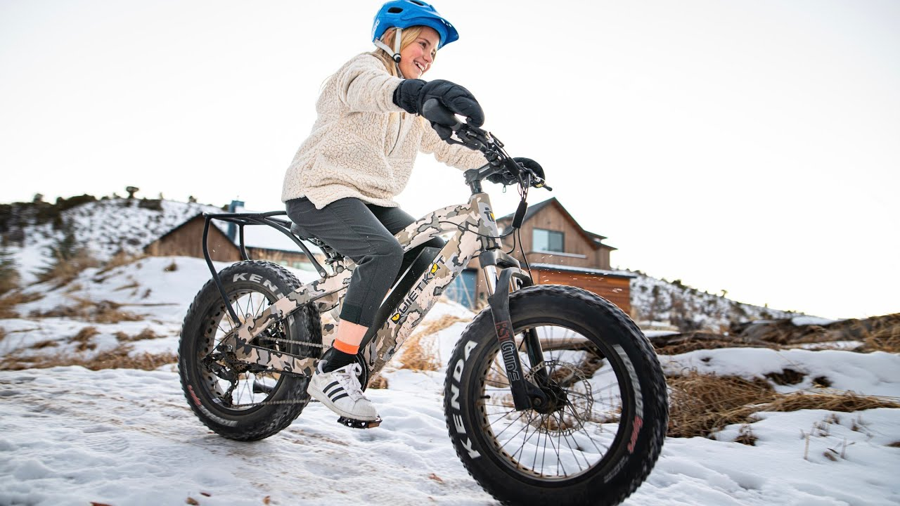 QuietKat 500W 2020 Ripper Electric Mountain Bicycle