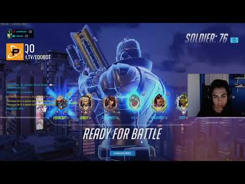 Boombox Wins a 1v1 against a Genji AND a Reinhardt - Fusion Stream Highlights