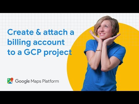 How to create and attach a billing account to a Google Cloud Platform project