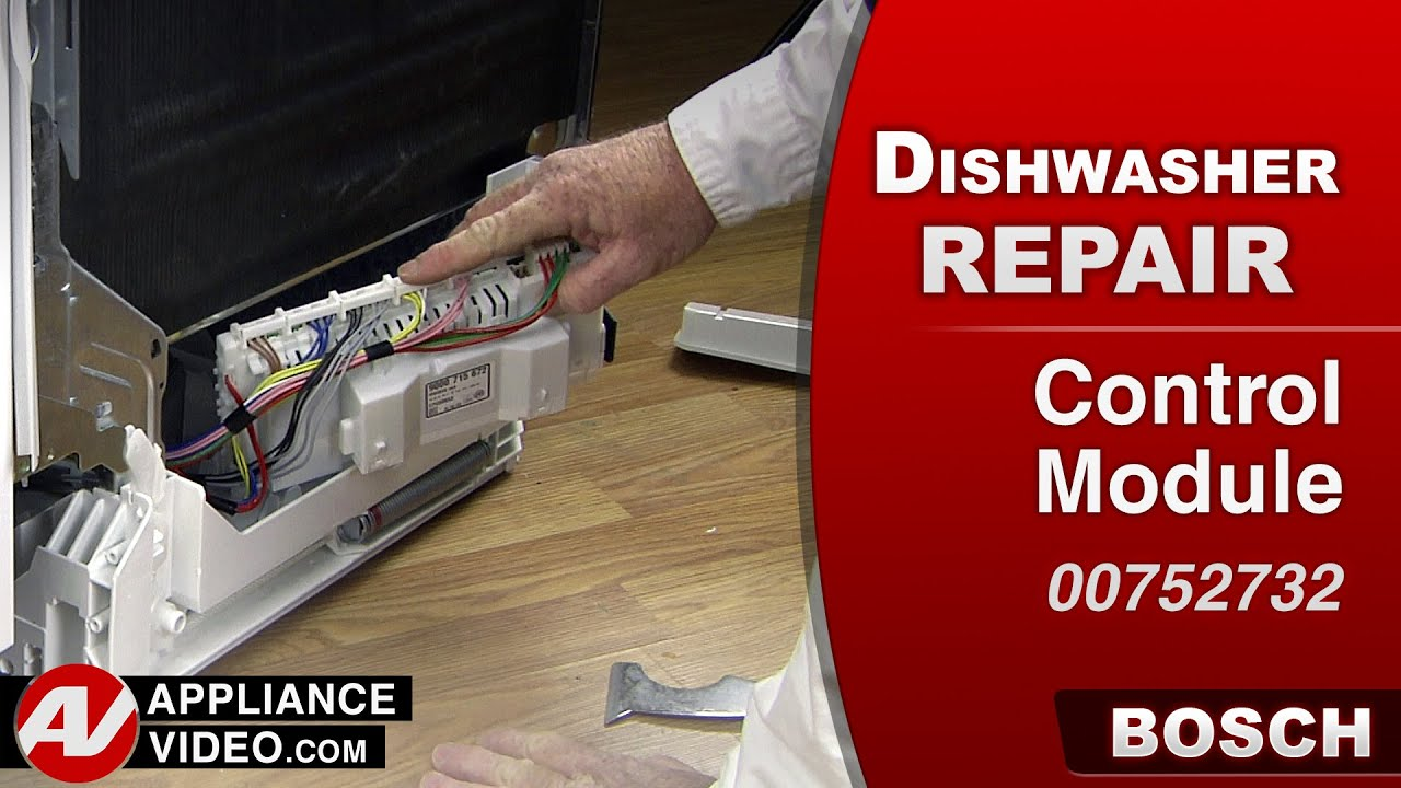 hight resolution of bosch dishwasher control module repair