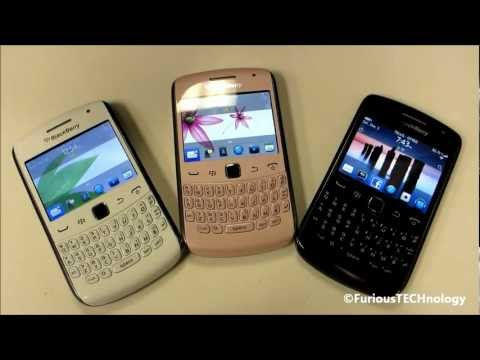 Blackberry Curve 9360 in White, Pink & Black - HD