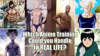 Which Anime Training Could You HANDLE In Real Life?