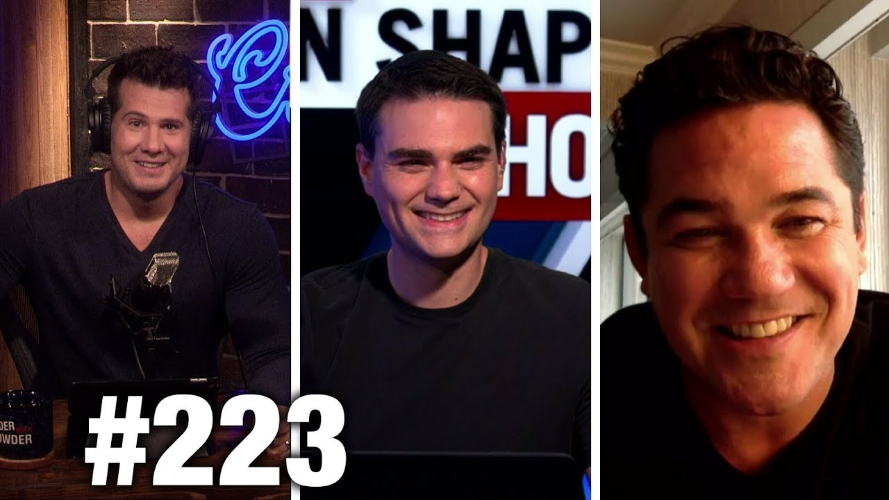 #223 THE SHAPIRO AND CROWDER ORIGIN STORY! With Dean Cain… and Gavin McInnes? | Louder With Crowder
