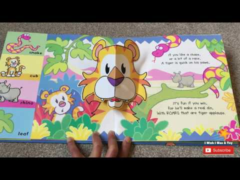 SNAPPY SOUNDS JUNGLE  Pop Up Book | Read Along.