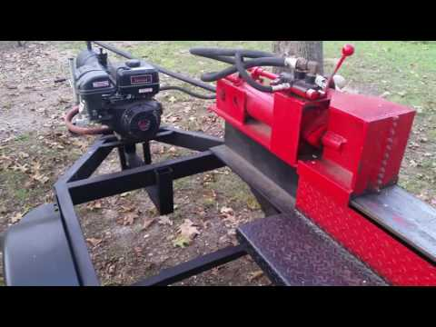 Homemade Wood Splitter