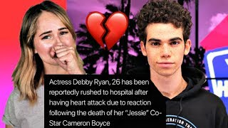 Debby Ryan Rushed To Hospital After Finding Out About Cameron Boyce
