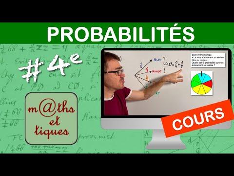 Download LE COURS : Probabilités - Quatrième
