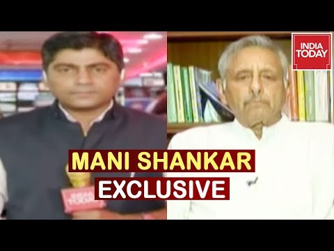 Mani Shankar Aiyar Exclusive Interview On India Today, Draws Palestine Parallel With Kashmir