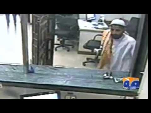 Funny Bank Robbery in Karachi