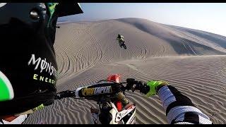 Desert motocross ride KTM 450 sxf 2017 & Honda CRF 450 r
