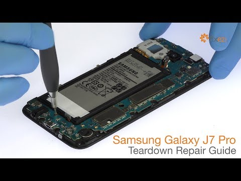 Bongkar isi kotak Samsung Galaxy J7 Pro warna biru+perak. Apakah ada yang beda sama saudaranya (J5 P.