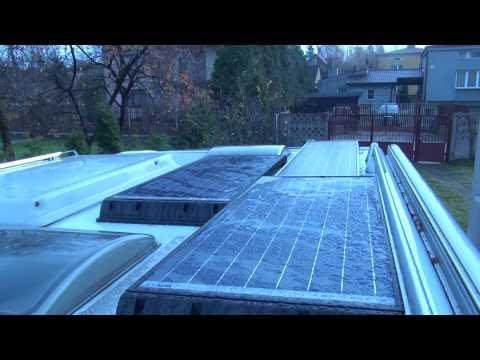 Camper van life : my solar set up