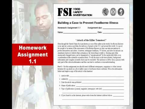 FFA Conversations - Food Safety Investigation