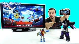Папа РОБ - Обзор приложения Transformers: Earth Wars - Игра Мультик