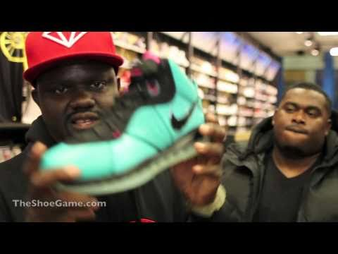 Nike South Beach LeBron 8 Footaction ATL Midnight Release