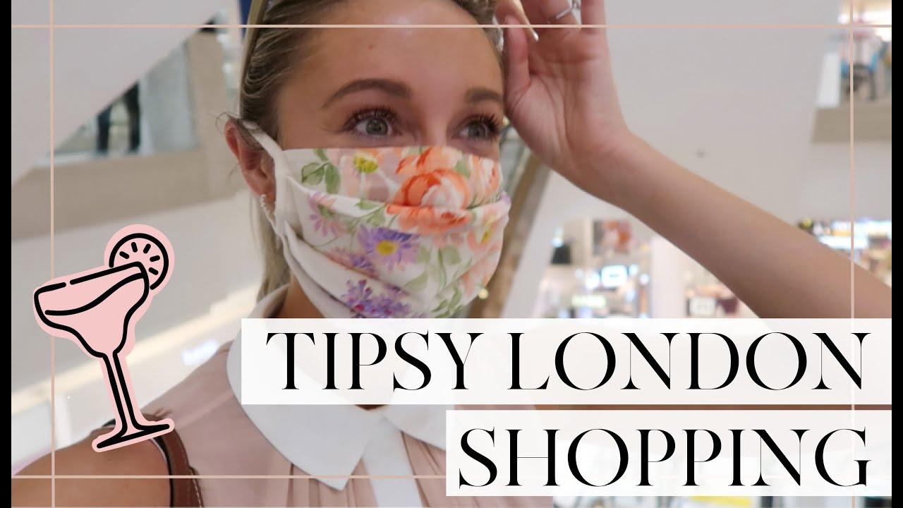 COME (TIPSY!) SHOPPING WITH ME IN LONDON // Fashion Mumblr
