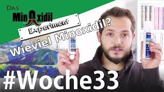#Minoxidil nur einmal am Tag?   Das Minoxidil Experiment Woche33