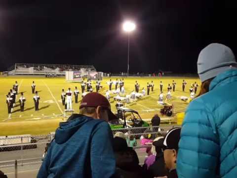 Stuarts Draft High School Band Football Game 10/28/16