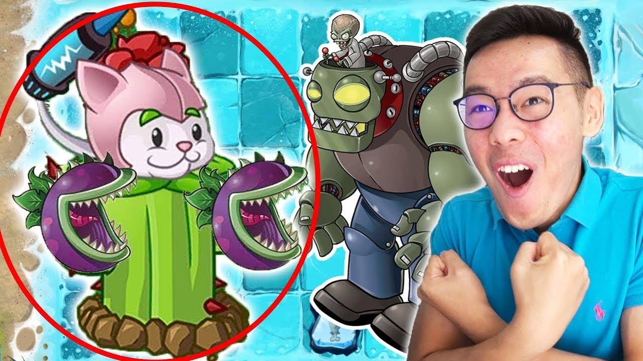 Tanaman Penguasa Buat Kalahin Zombie Terkuat Plants Vs Zombies 2 3 Youtube