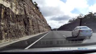 Dash cam Australia freeway driving FULL HD