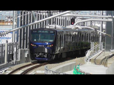 相鉄12000系・埼京線E233系試運転③ in 羽沢横浜国大駅(2019/10/9撮影)