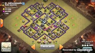 CLÃ INFANTARIA . CV8 APRENDA A DAR PT EM CV8. clash of clans