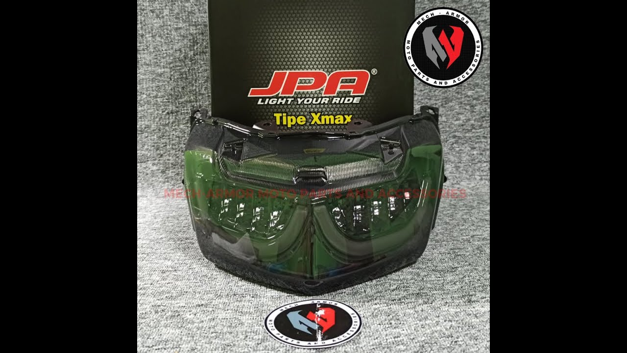 Nmax Original JPA Tail Light Version 3 New Design