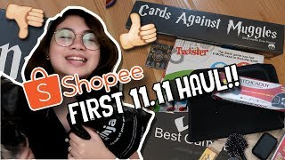 First Shopee 11.11 Big Christmas Sale Haul + Tips on Shopping Online | Matthan's Mom