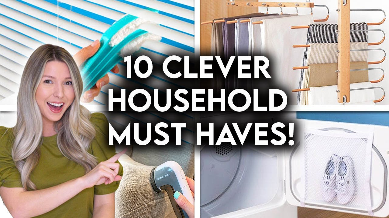 10 AFFORDABLE HOUSEHOLD PRODUCTS YOU DIDN'T KNOW YOU NEEDED