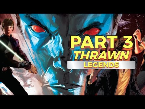 LEGENDS THRAWN during THE MANDALORIAN   Part 3   Heir To The Empire   Star Wars Explained  