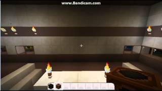 Minecraft Şömine ve LCD Televizyon Yapımı