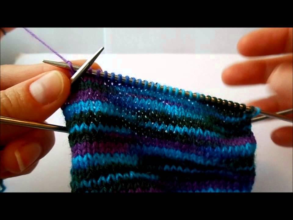 ToeUp Socken Stricken Teil 4 Bumerangferse ohne Wickelmaschen | ohne linken Maschen