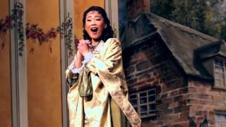"""Aria """"Zum treuen Freude geh den Teuren zu versöhnen"""" from MARTHA by Flotow. Michelle Chang, Soprano"""