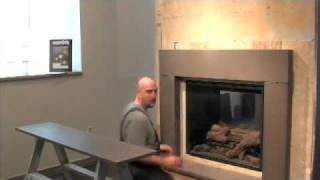 Chapter 4: Installing The Trim Kit - Solus Installing Concrete Fireplace Surround