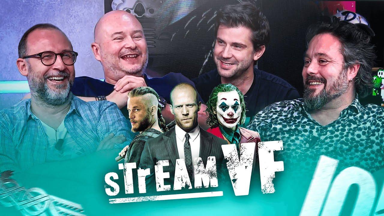 StreamVF spécial Vikings avec Alexis Victor, Boris Rehlinget et Cauet