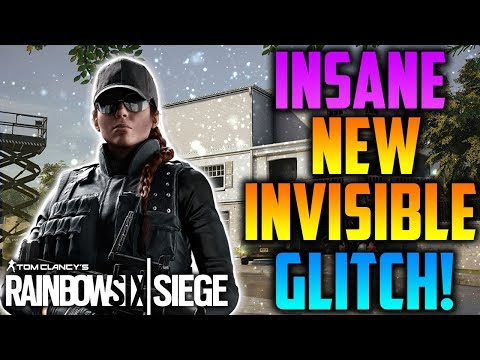 INSANE *NEW* INVISIBLE GLITCH! *AFTER PATCH* (TUTORIAL) *IQ* - Rainbow Six Siege