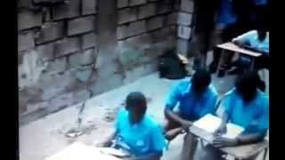 Jamaican Student Slaps the Shit out of His Classmates