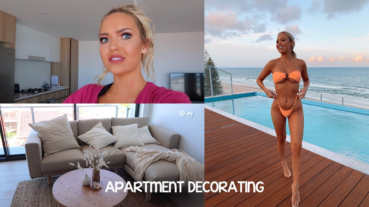 MOVING SERIES PART 2    decorating, rooftop pool reveal, pantry organisation, where we bought it all