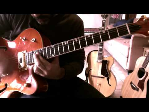 Davide Vaccari - Blue moon of Kentucky (as played by B.Setzer)