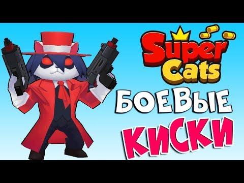 Лютые КИСКИ-взял топ 1 в Super Cats!