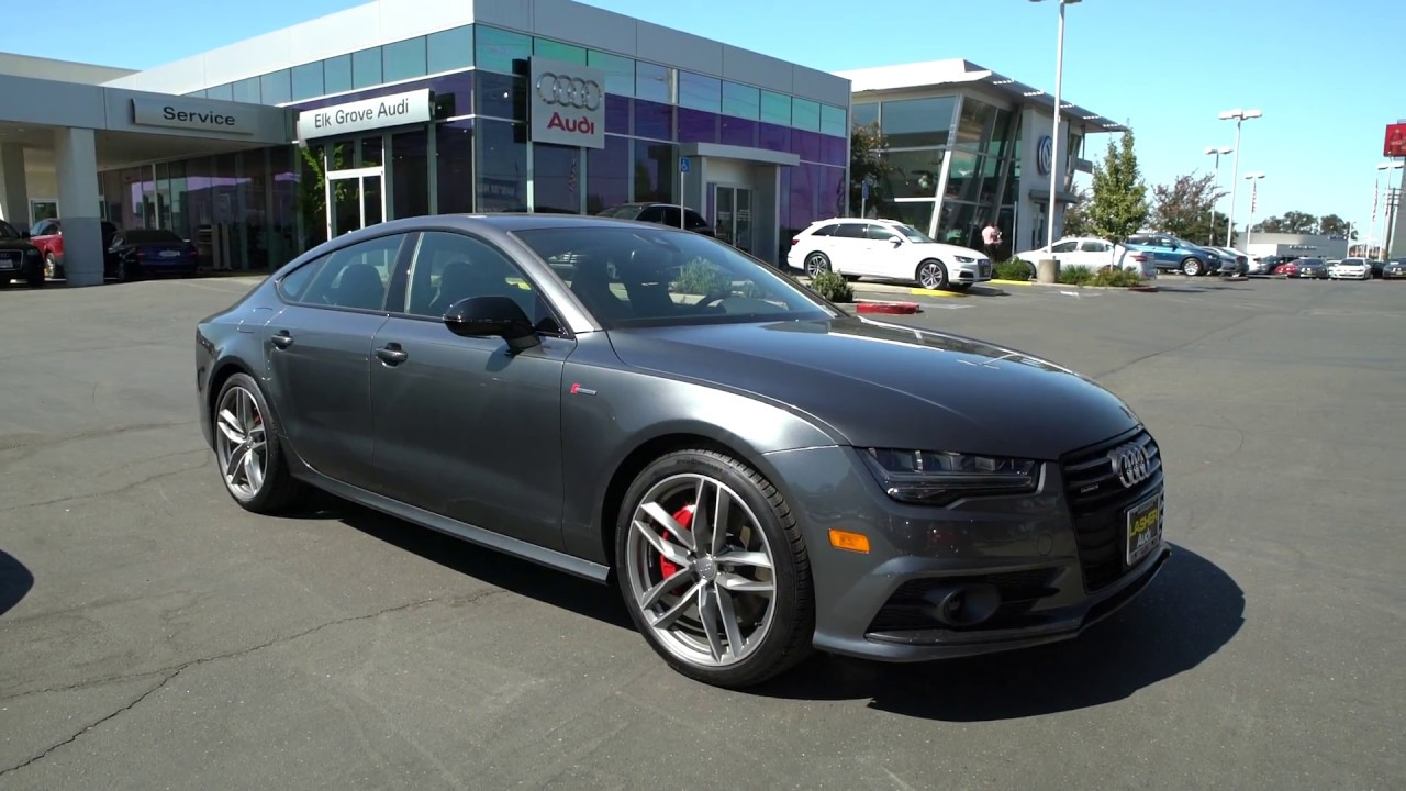 2018 Audi A7 Competition Package Daytona Gray Quick Look