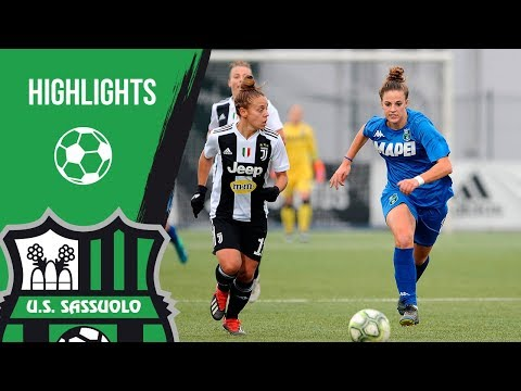 Serie A Femminile: Juventus-Sassuolo 4-0 Highlights