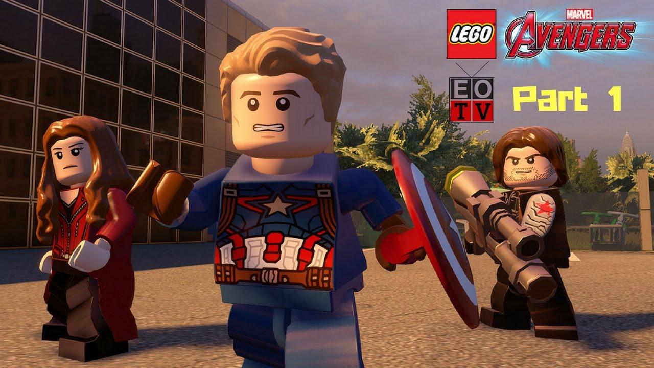 Lego Marvel Avengers Walkthrough Part 1 - YouTube