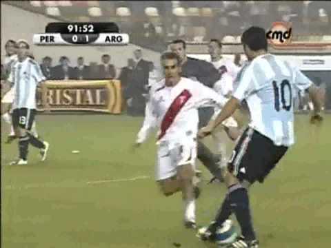 PERÚ vs ARGENTINA - CMD - Vargas - Fano -  últimos 5 min