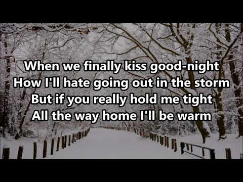 Dean Martin - Let it Snow! - Lyrics