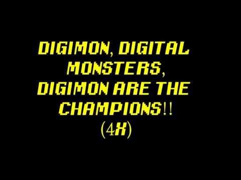 Digimon Rap - Lyrics
